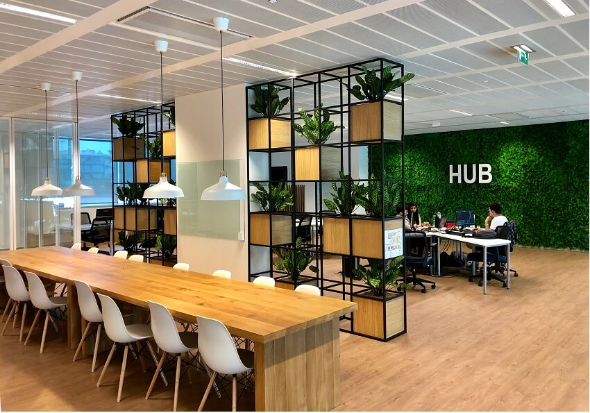 HUB Justiça - physical space