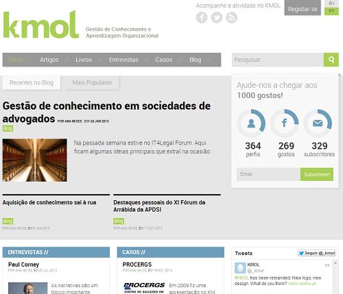 Screenshot do KMOL