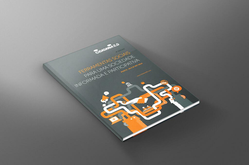 Cidadania 2.0 2014 - Capa do booklet