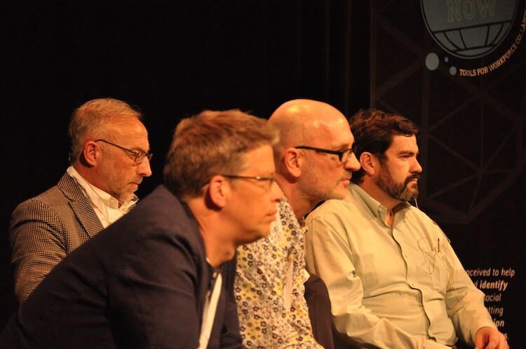 Social Now 2015 - Consultores no palco para o debate final