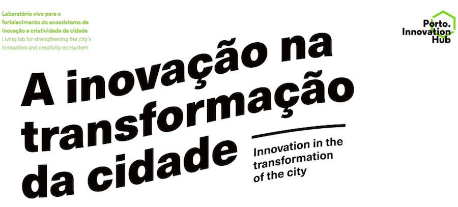 Banner da iniciativa da Porto Innovation Hub