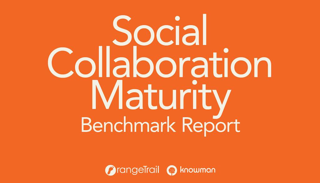 Capa do relatório Social Collaboration Maturity Benchmark 2020