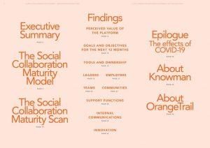 Social Collaboration Maturity Benchmark - índice